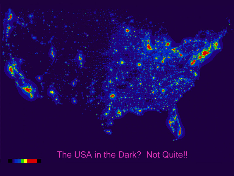 Dark Skies Map My Blog South Downs Joins Global Rank For - Us night sky map